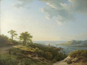 View over Heidelberg, 1837 by Barend Cornelis Koekkoek