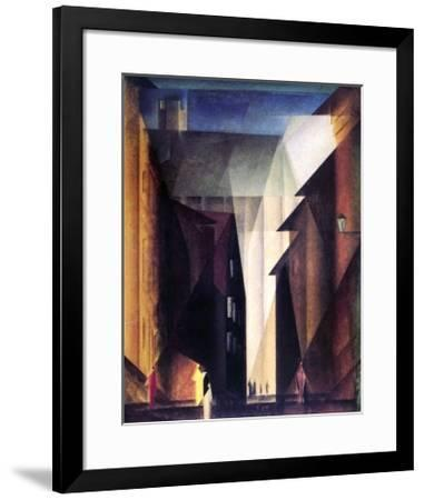 Barfusserkirche , 1924-Lyonel Feininger-Framed Art Print