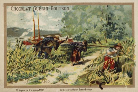 Barge--Giclee Print