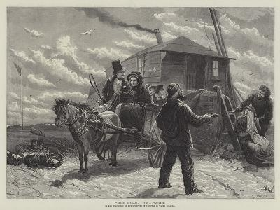 Barkis Is Willin, in the Exhibition of the Institute of Painters in Water Colours-Charles Joseph Staniland-Giclee Print