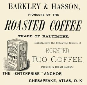 Barkley and Hasson Roasted Coffee