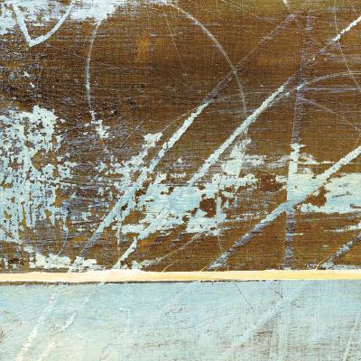 Barn Blue Square I-J^ McKenzie-Art Print