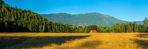 Barn on Cascade Road in Rockport in Northwest Washington State, USA