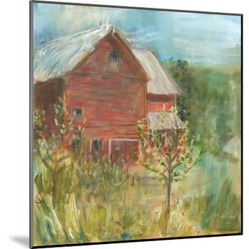 Barn Orchard-Sue Schlabach-Mounted Art Print