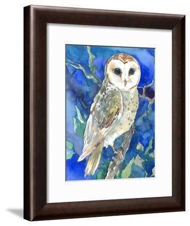 Barn Owl-Suren Nersisyan-Framed Art Print