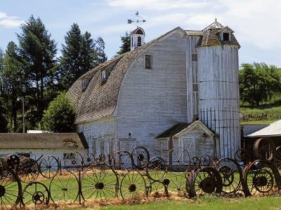 Barn, Pullman, Washington, USA-Charles Gurche-Photographic Print