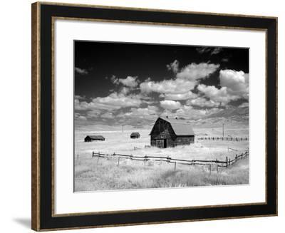 Barn, Rural Montana-Carol Highsmith-Framed Photo