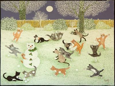 Barn Storming, 2011-Pat Scott-Giclee Print