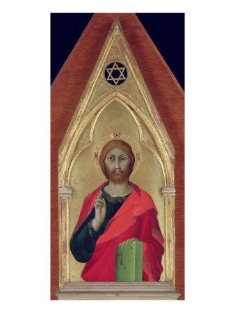 Christ Blessing, c.1325