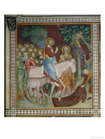 The Entry of Christ Into Jerusalem, from a Series of Scenes of the New Testament