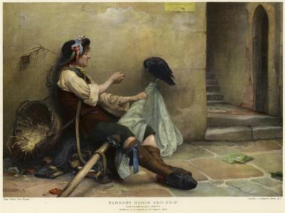 Barnaby Rudge and Grip, 1906-Nellie Joshua-Giclee Print