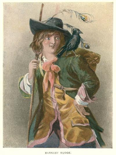 Barnaby Rudge, Illustration for 'Barnaby Rudge' by Charles Dickens-Thomas Sibson-Giclee Print