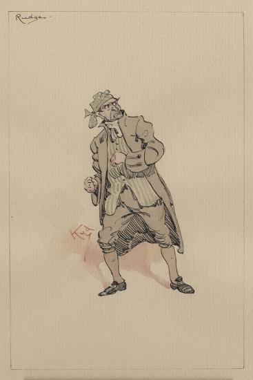 Barnaby Rudge Sr, C.1920s-Joseph Clayton Clarke-Giclee Print