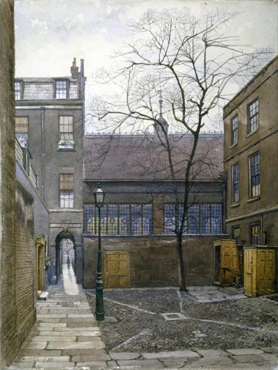Barnard's Inn, London, 1886-John Crowther-Giclee Print