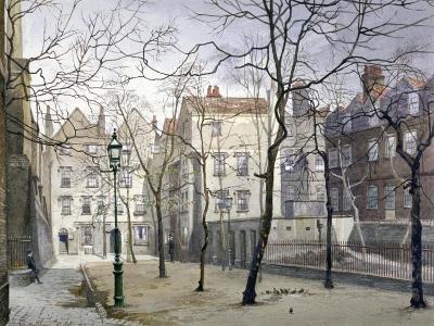 Barnard's Inn, London, 1888-John Crowther-Giclee Print