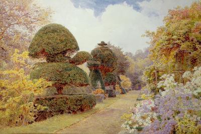 Barncluith, Lanarkshire, 1900-George Samuel Elgood-Giclee Print