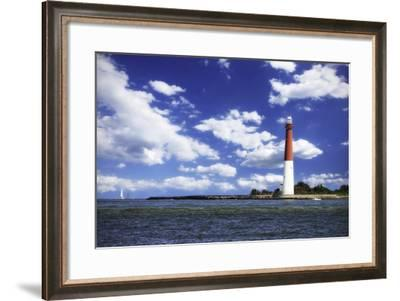 Barnegat Bay Light II-Alan Hausenflock-Framed Photographic Print