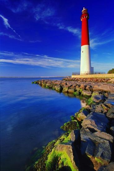 Barnegat Lighthouse, New Jersey-George Oze-Photographic Print