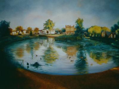 Barnes Pond, 2006-Lee Campbell-Giclee Print