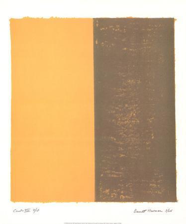 Canto XIII by Barnett Newman