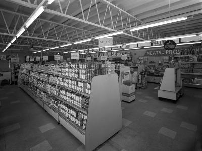 Barnsley Co-Op, Interior of the Jump Branch, Near Barnsley, South Yorkshire, 1961-Michael Walters-Photographic Print