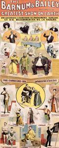 Barnum and Bailey Bizzare Circus Poster
