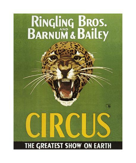 Barnum And Bailey Circus-The Vintage Collection-Premium Giclee Print