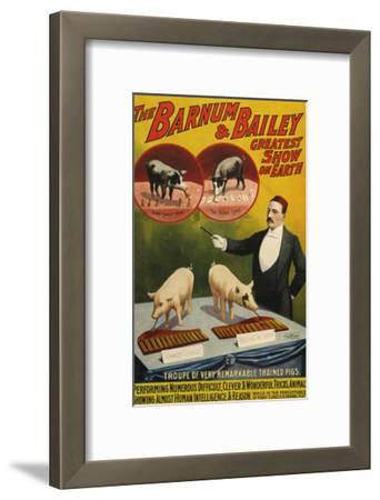 Barnum and Bailey, Poster, 1900