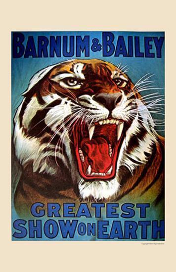 Barnum & Bailey, 1916--Art Print