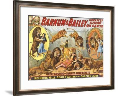 Barnum & Bailey's, 1915, USA--Framed Giclee Print