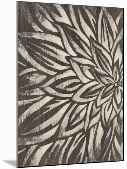 Barnwood Blossom I-June Vess-Mounted Art Print