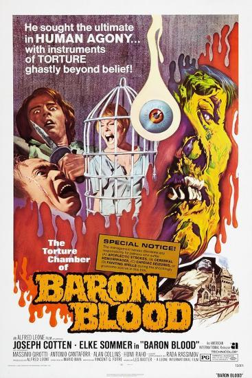 Baron Blood (aka Gli Orrori del Castello di Norimberga)--Art Print