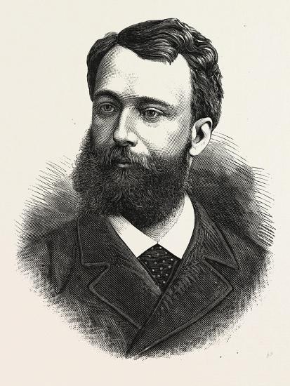 Baron Boissy D'Anglas, Minister Plenipotentiary of France to Mexico, 1880 1881--Giclee Print