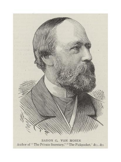 Baron G Von Moser--Giclee Print