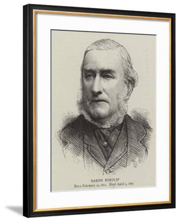 Baron Hindlip--Framed Giclee Print