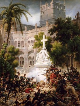 Assault of the Monastery of Of Santa Engracia, February 8, 1809