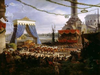 Entry of Charles X into Paris, after His Consecration, 6 June 1825