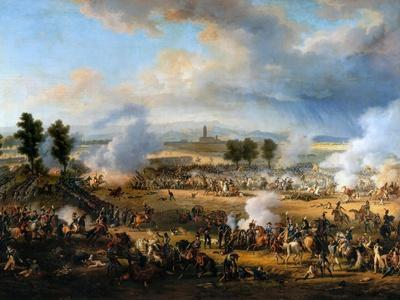 The Battle of Marengo on 14 June 1800