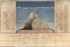 Geography of Plants in Tropical Countries, a Study of the Andes, Drawn by Schoenberger and…-Friedrich Alexander, Baron Von Humboldt-Giclee Print