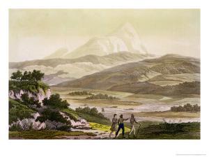 Mount Cayambe, Ecuador, Le Costume Ancien et Moderne, c.1820 by Baron Von Humboldt Friedrich Alexander