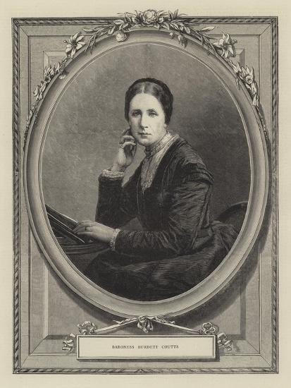 Baroness Burdett Coutts--Giclee Print