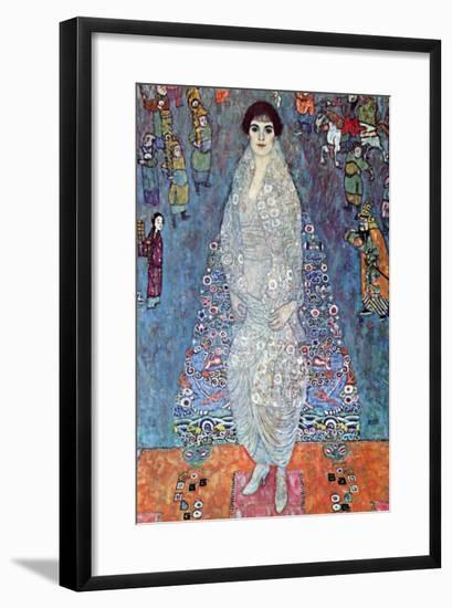 Baroness Elizabeth-Gustav Klimt-Framed Art Print