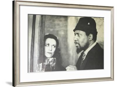 Baroness Pannonica Rothschild De Koenigswarter and Thelonious Monk--Framed Photographic Print