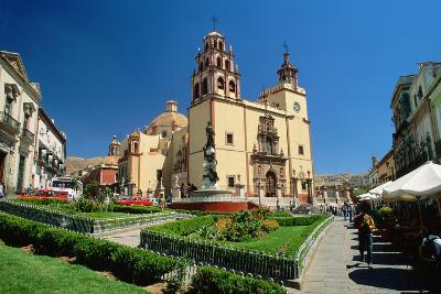 Baroque Basilica of Nuestra Senora De Guanajuato-Danny Lehman-Photographic Print