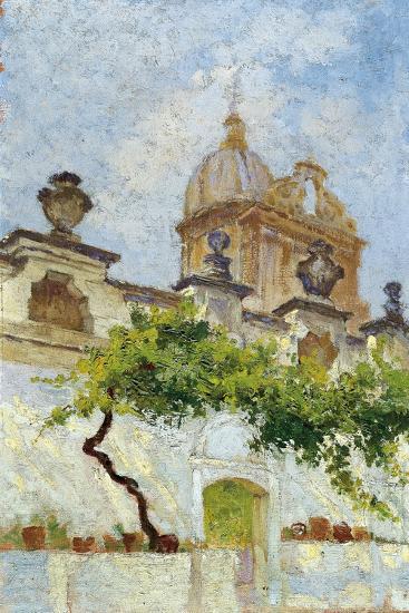 Baroque Church-Damaso Bianchi-Giclee Print