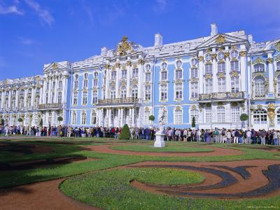 Baroque St. Catherine Palace, Pushkin, Near St. Petersburg, Russia, Europe-Gavin Hellier-Photographic Print