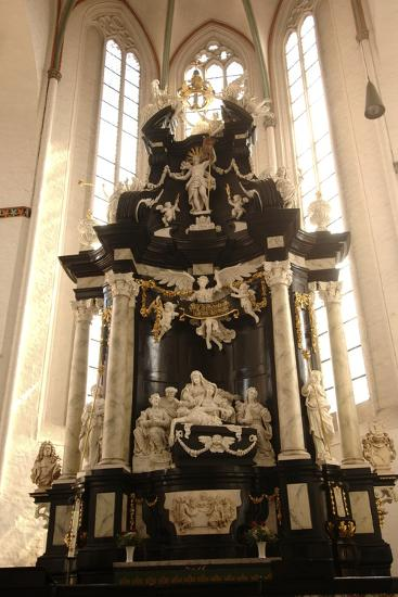 Baroque Style Altar in Jacobikirche (St James's Church--Photographic Print