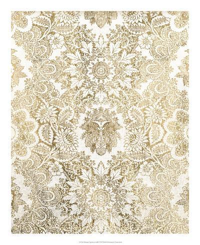 Baroque Tapestry in Gold I-Vision Studio-Giclee Print