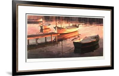 Barques Al Port-Poch Romeu-Framed Limited Edition
