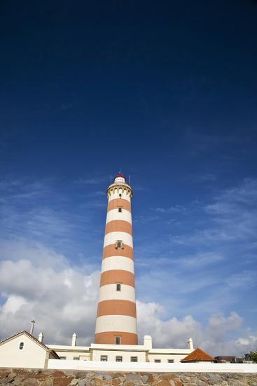 Barra Lighthouse, Costa Nova, Aveiro, Portugal-Julie Eggers-Photographic Print